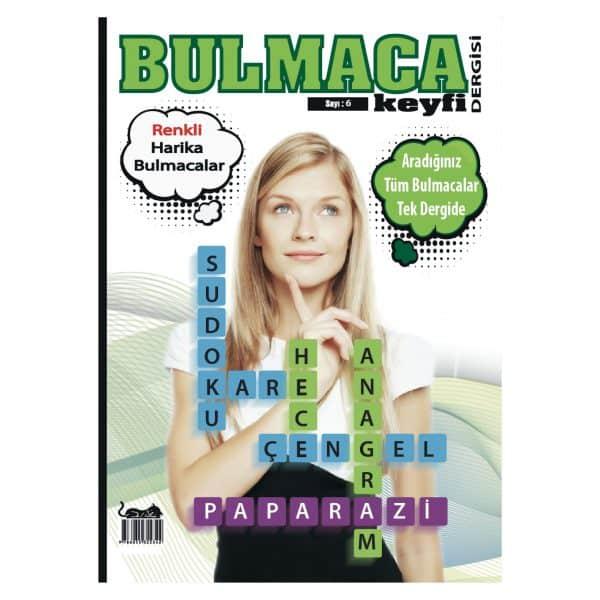 Bulmaca Keyfi Dergisi Sayı 6