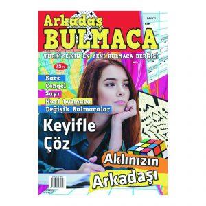 Arkadaş Bulmaca Dergisi Sayı 1